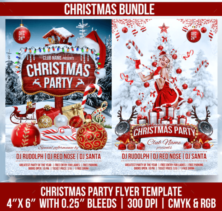 150+ Free Christmas Graphics: Fonts, Images, Vectors, Patterns & Premium Bundles - christmas graphics bundle 8