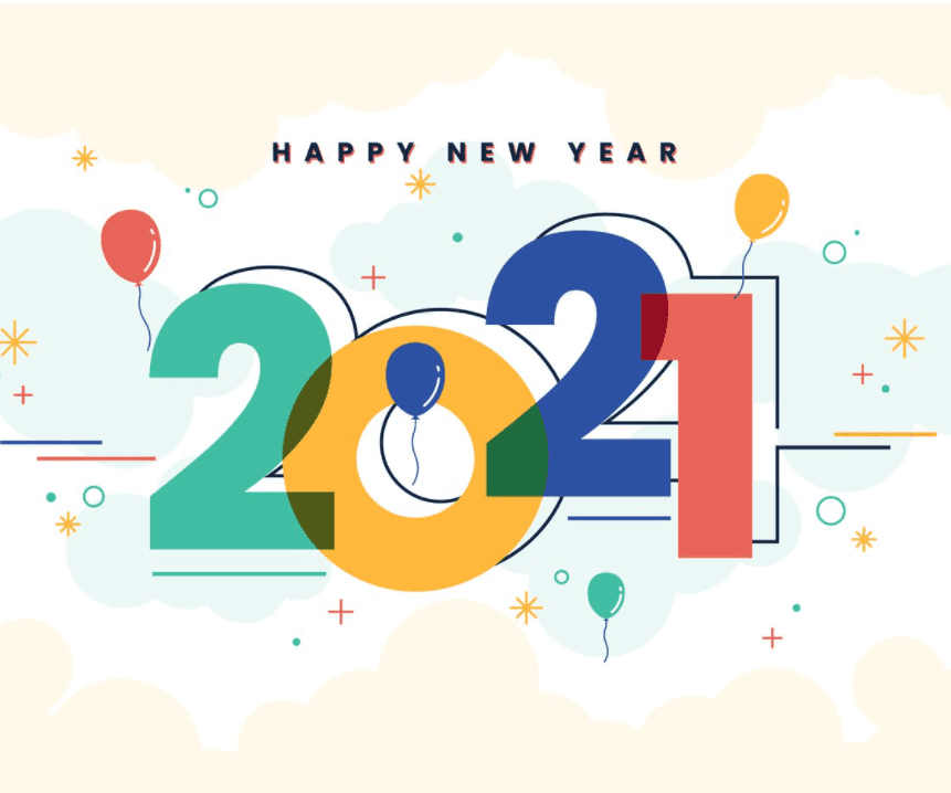 Happy New Year 2021.