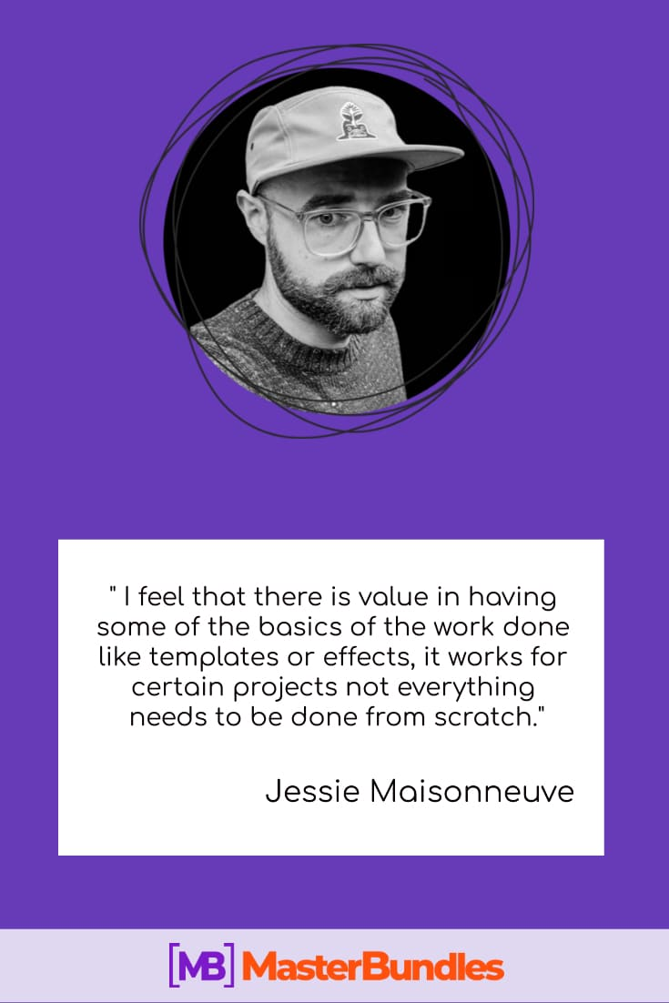 """📝""""In today's settings real designers need to be a lot of things other than just designers"""" - Jessie Maisonneuve - jessie maisonneuve masterbundles"""