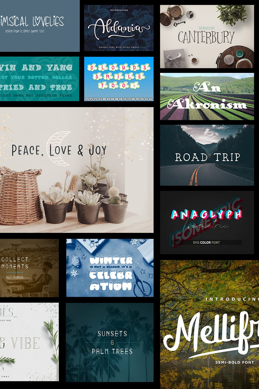 Whimsical Fonts. Pinterest.