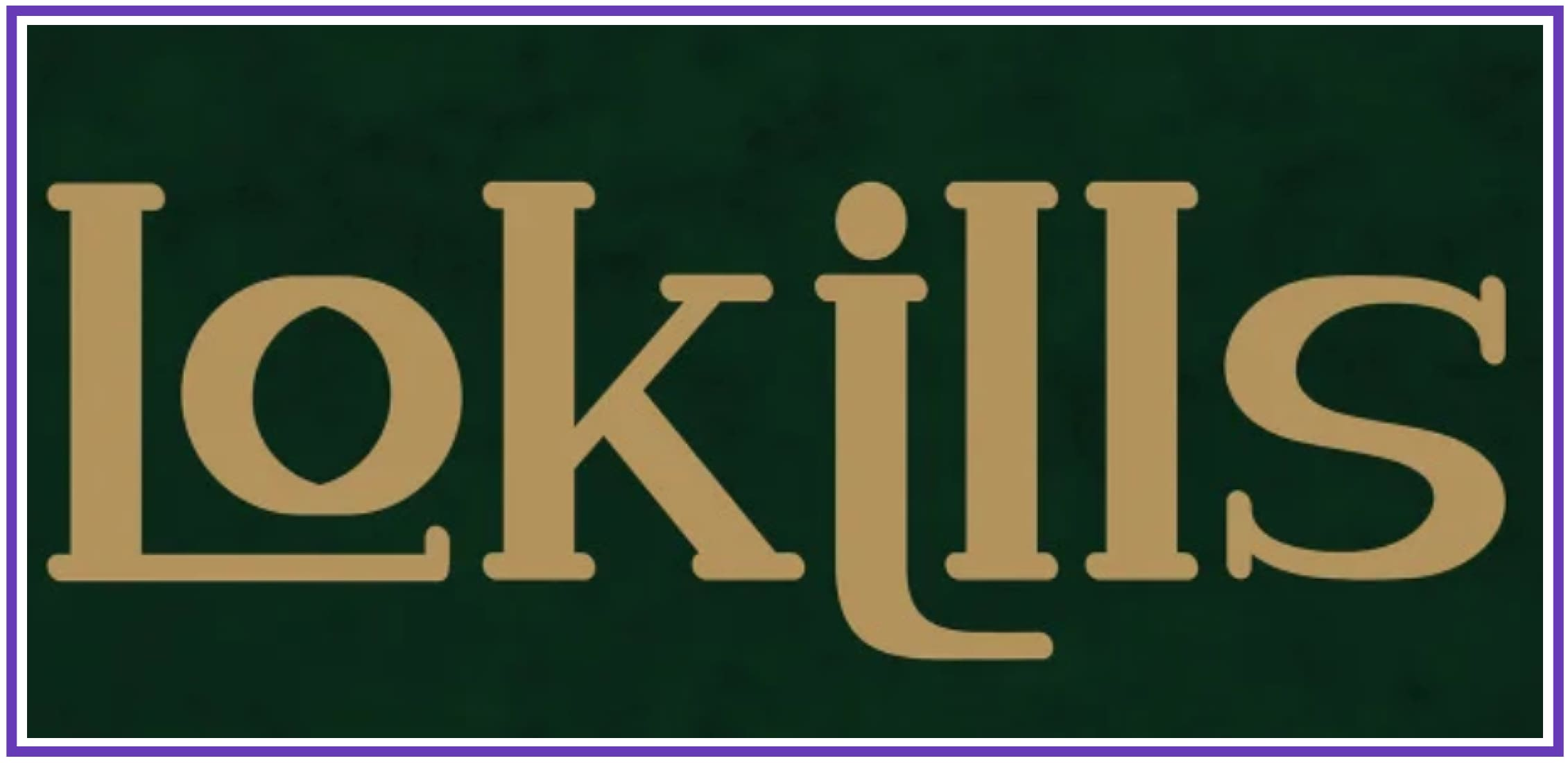 Beautiful Lokills. Punk Font.