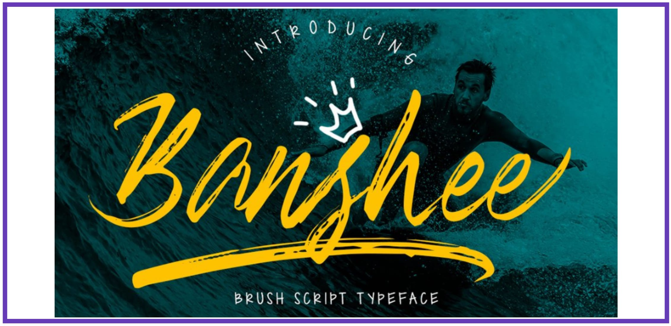 Terrific Banshee. Punk Font.