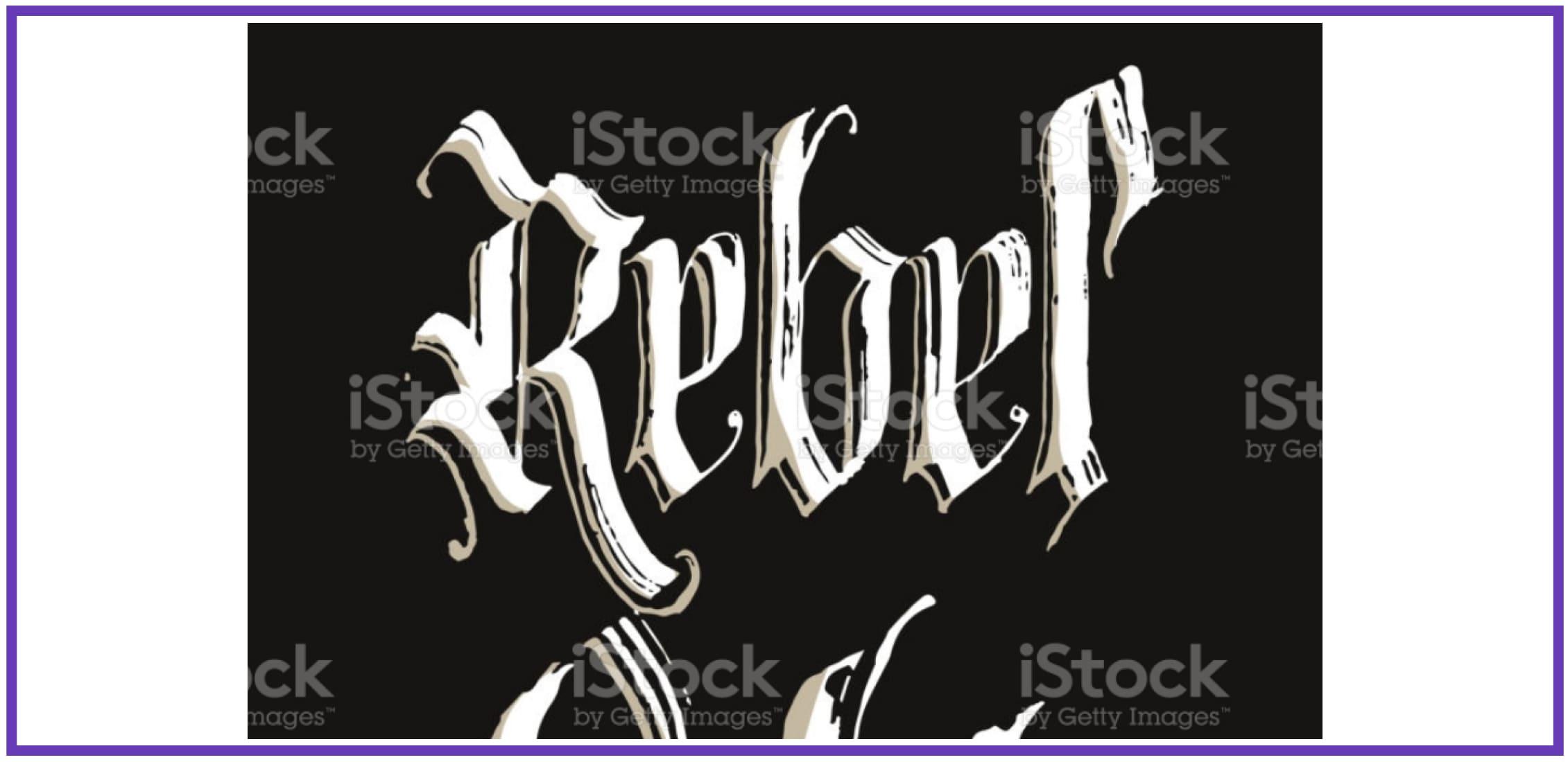 Rock-inspired Rebel. Punk Font.