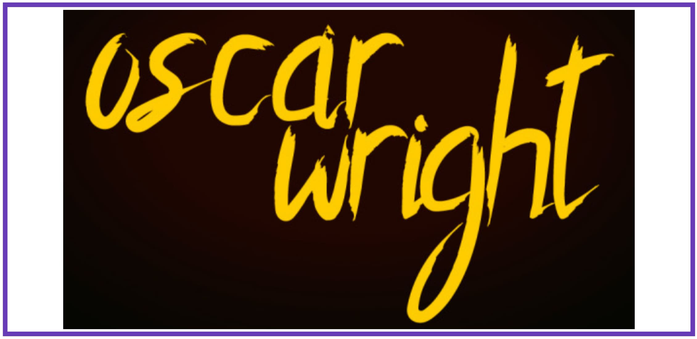 Elegant Oscar Wright. Masculine Font.