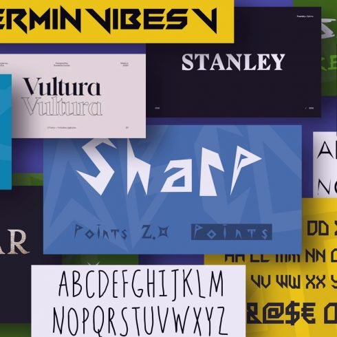 Best 25 Sharp Fonts for a Successful Brand Building 2021