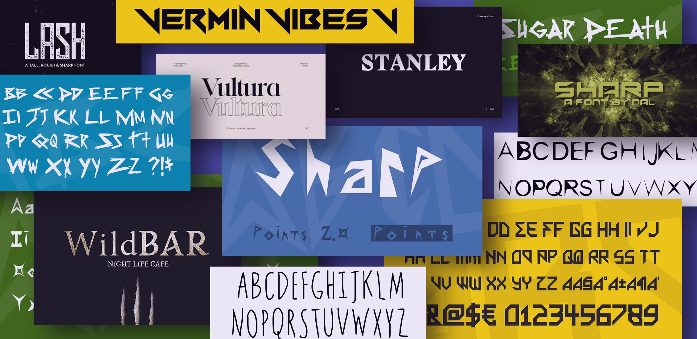 Examples Best Sharp Fonts.