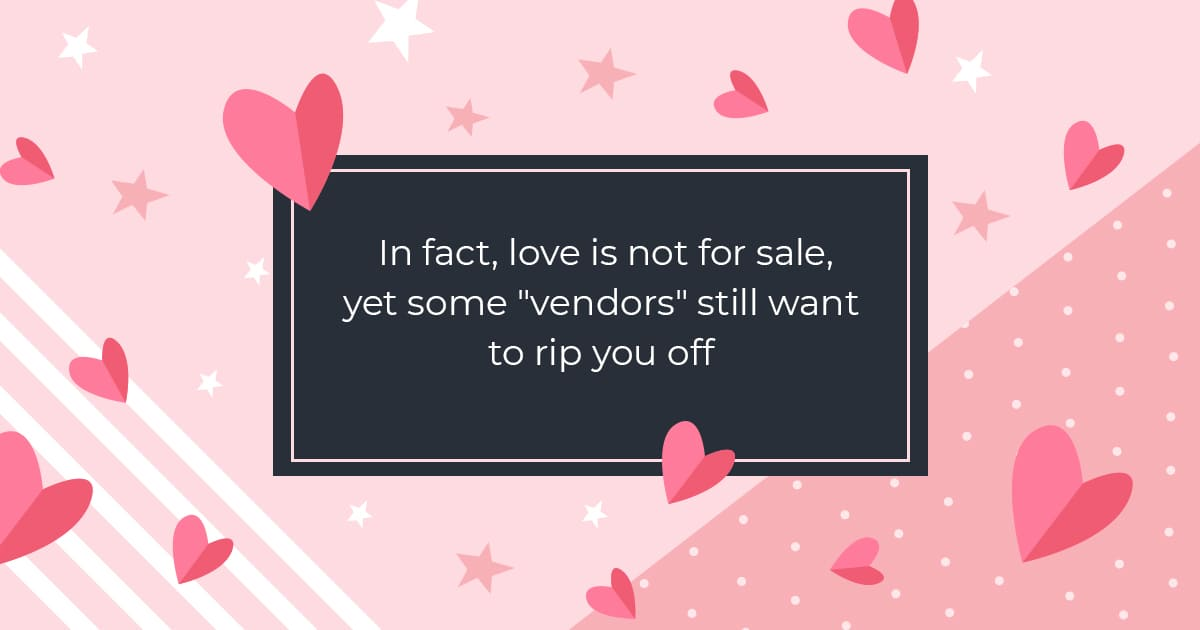 In fact, love is not for sale, yet some