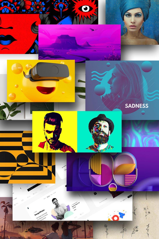 Design Trends 2021. Pinterest Image.
