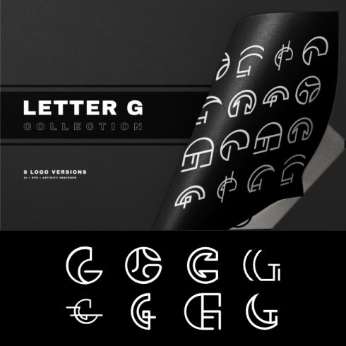 Letter G - Logo Collection - p1 1 490x490