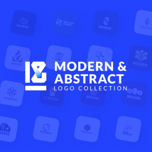 18 Modern & Abstract - Collection Logo Template - p1 490x490