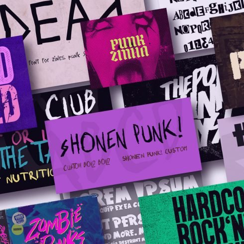 20+ Awesome Punk Fonts For a Powerful Message