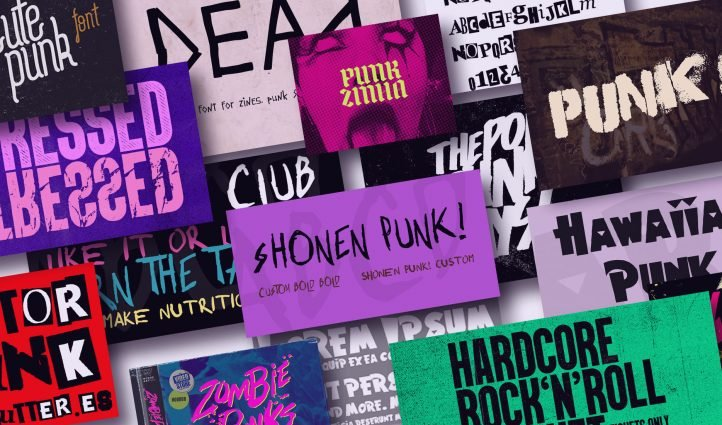 Awesome Punk Fonts.