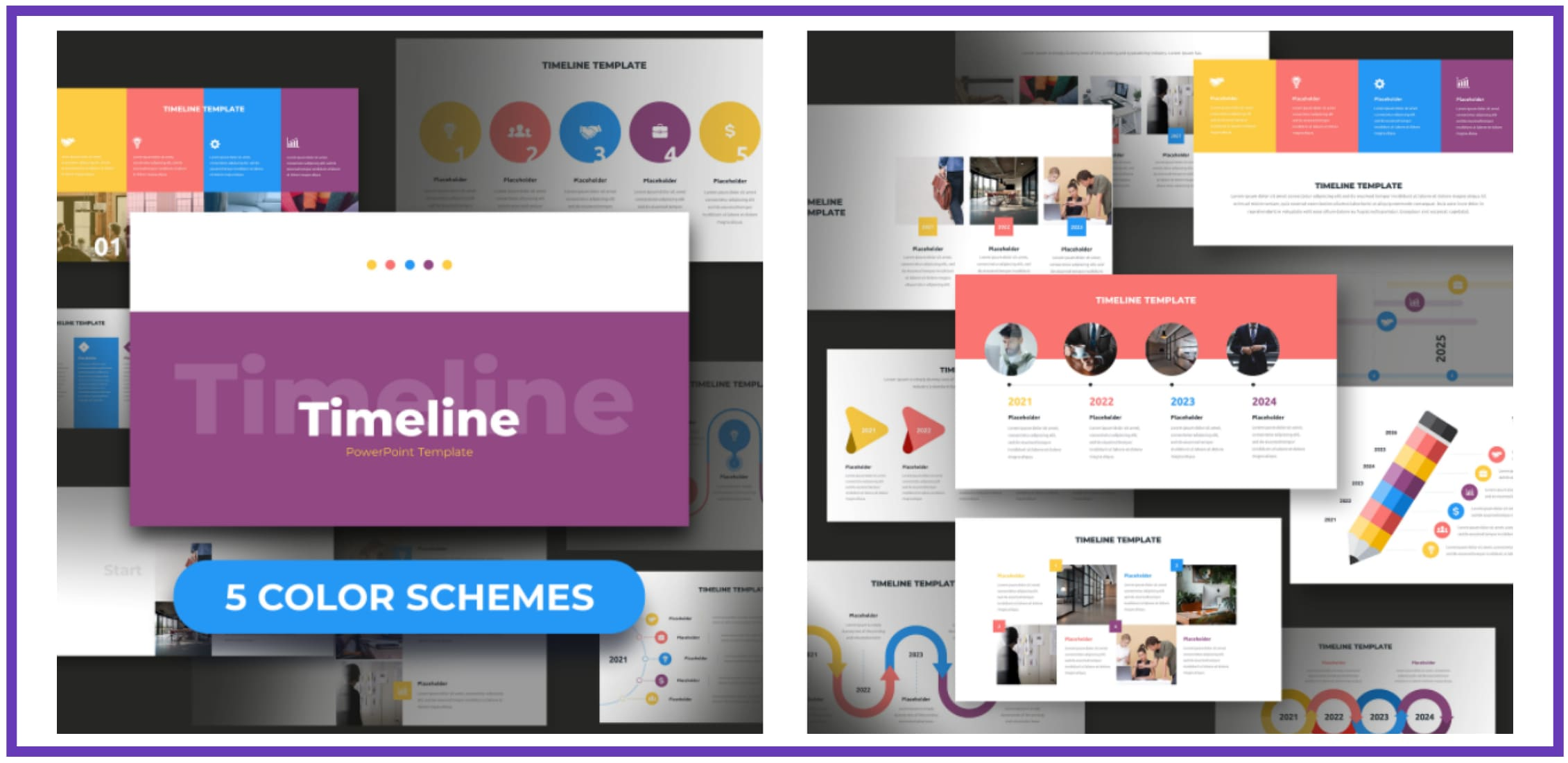 60+ Outstanding Simple PowerPoint Templates 2021: Free & Premium - simple powerpoint templates 241
