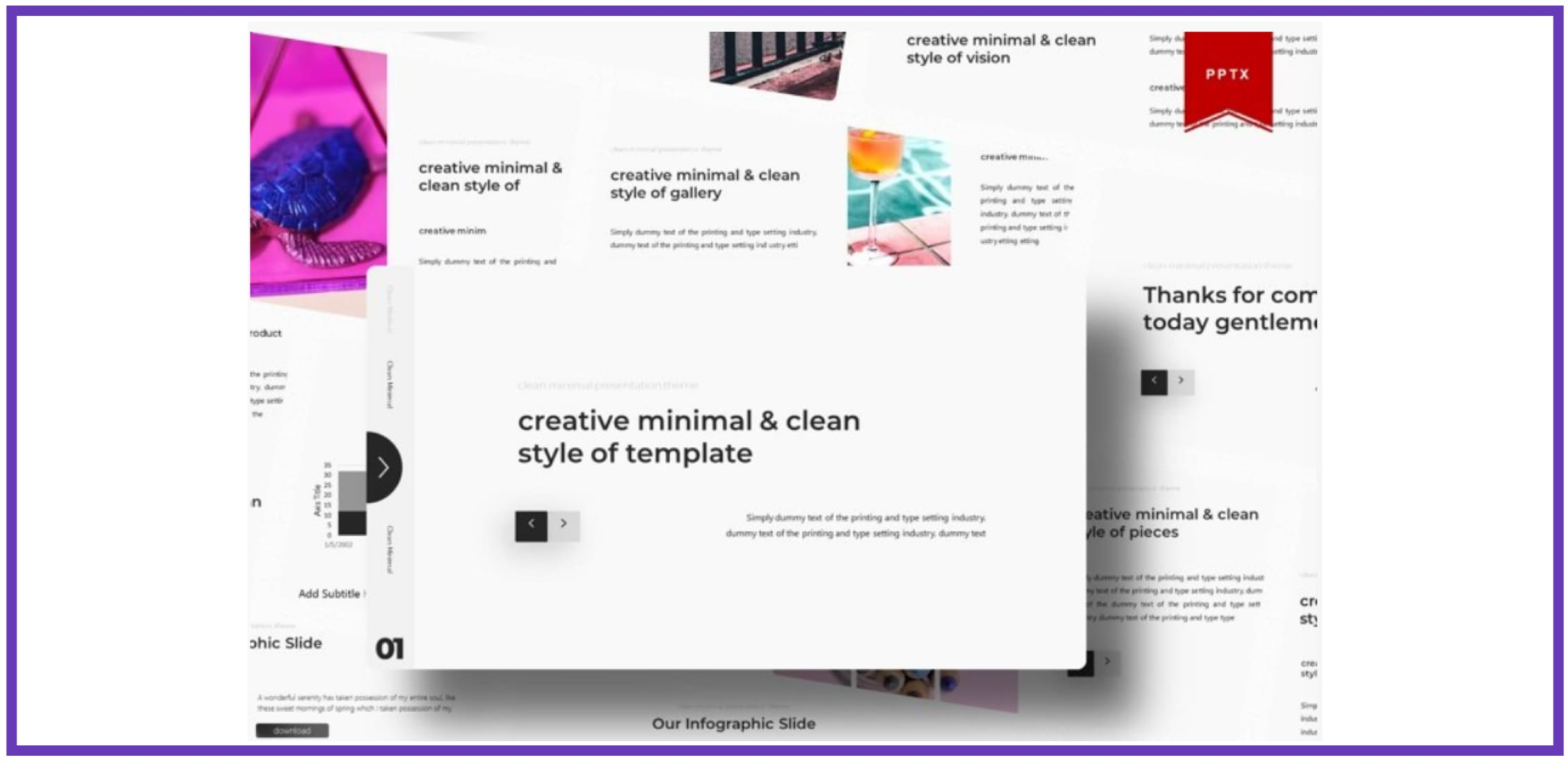 60+ Outstanding Simple PowerPoint Templates 2021: Free & Premium - simple powerpoint templates 242