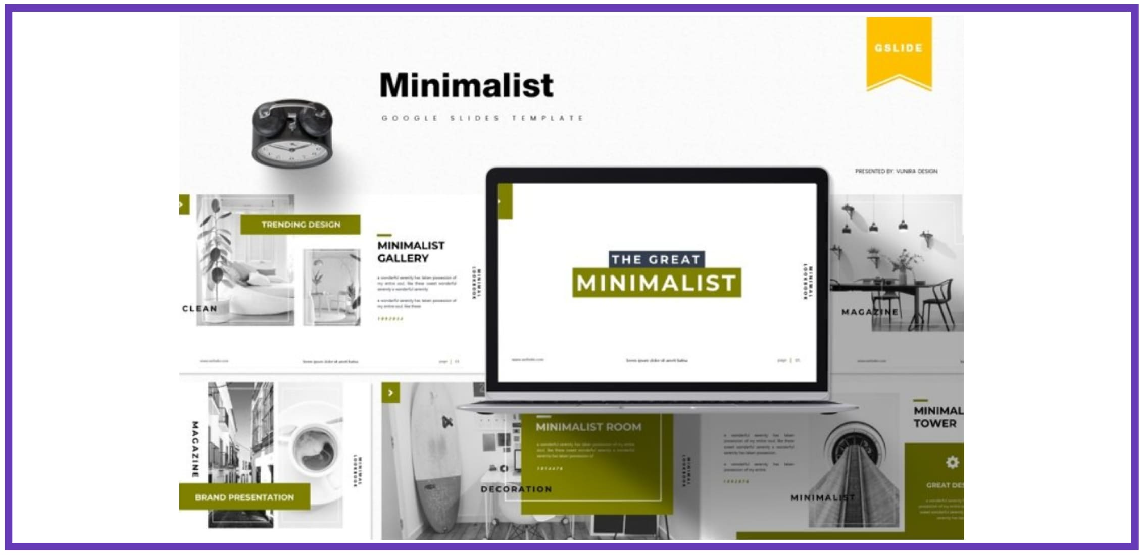 60+ Outstanding Simple PowerPoint Templates 2021: Free & Premium - simple powerpoint templates 243