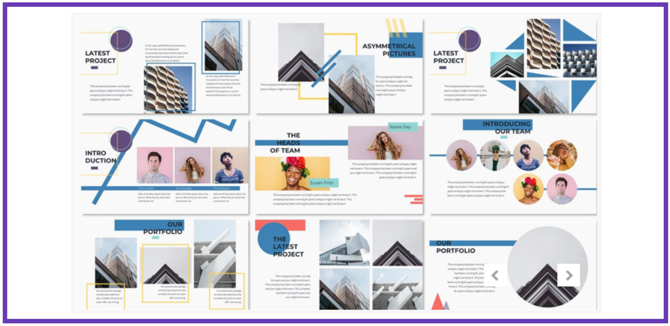 60+ Outstanding Simple PowerPoint Templates 2021: Free & Premium - simple powerpoint templates 246