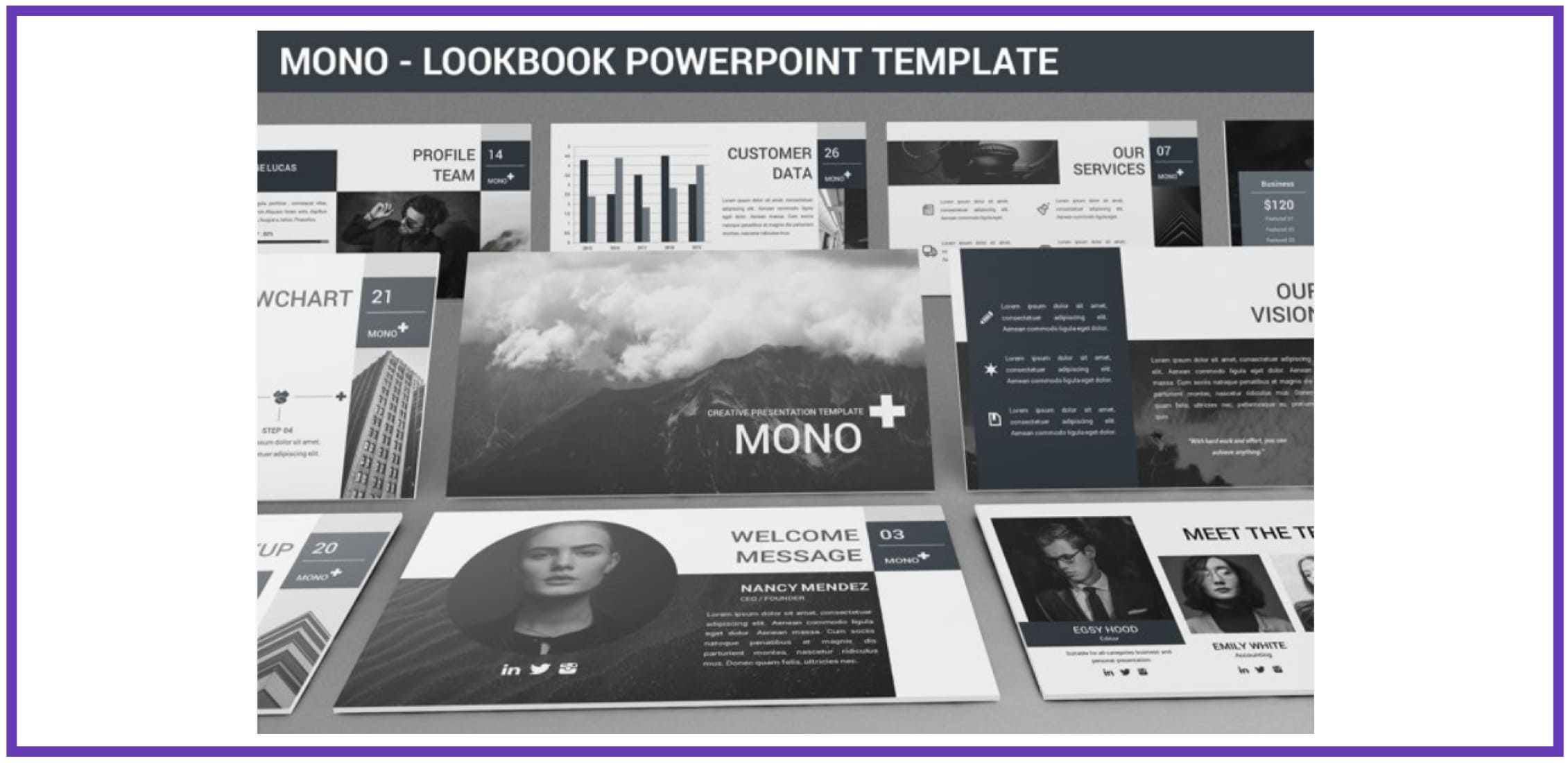 60+ Outstanding Simple PowerPoint Templates 2021: Free & Premium - simple powerpoint templates 254