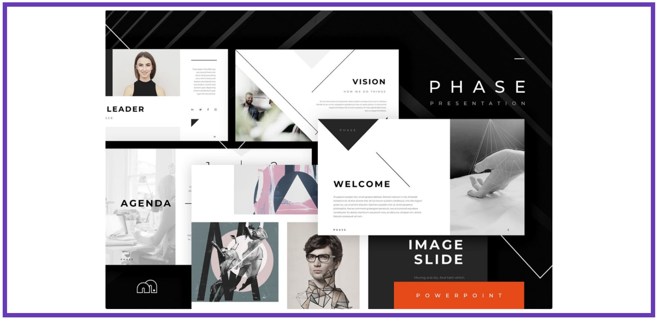 60+ Outstanding Simple PowerPoint Templates 2021: Free & Premium - simple powerpoint templates 256