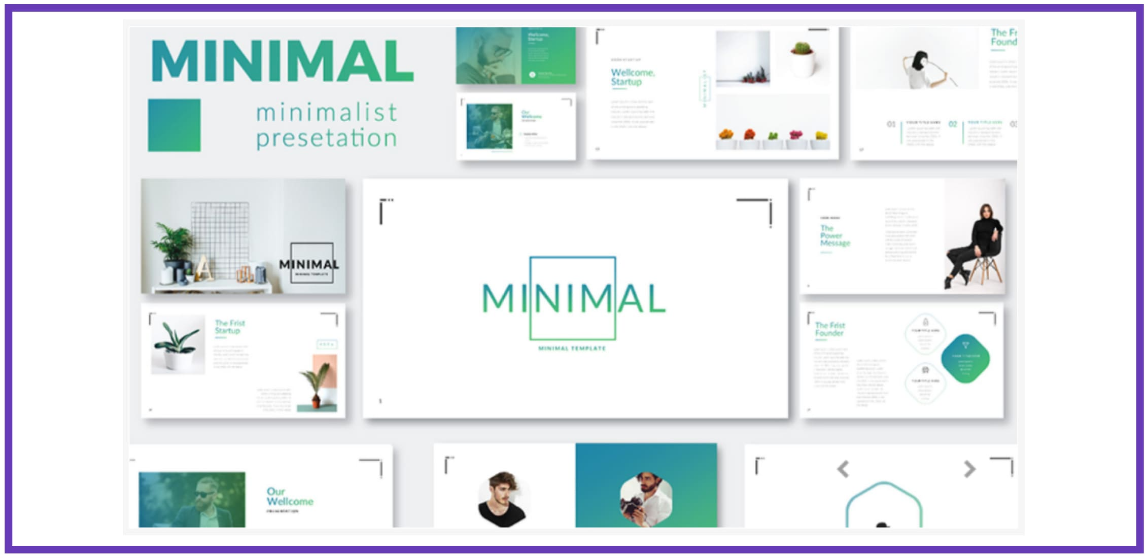 60+ Outstanding Simple PowerPoint Templates 2021: Free & Premium - simple powerpoint templates 258