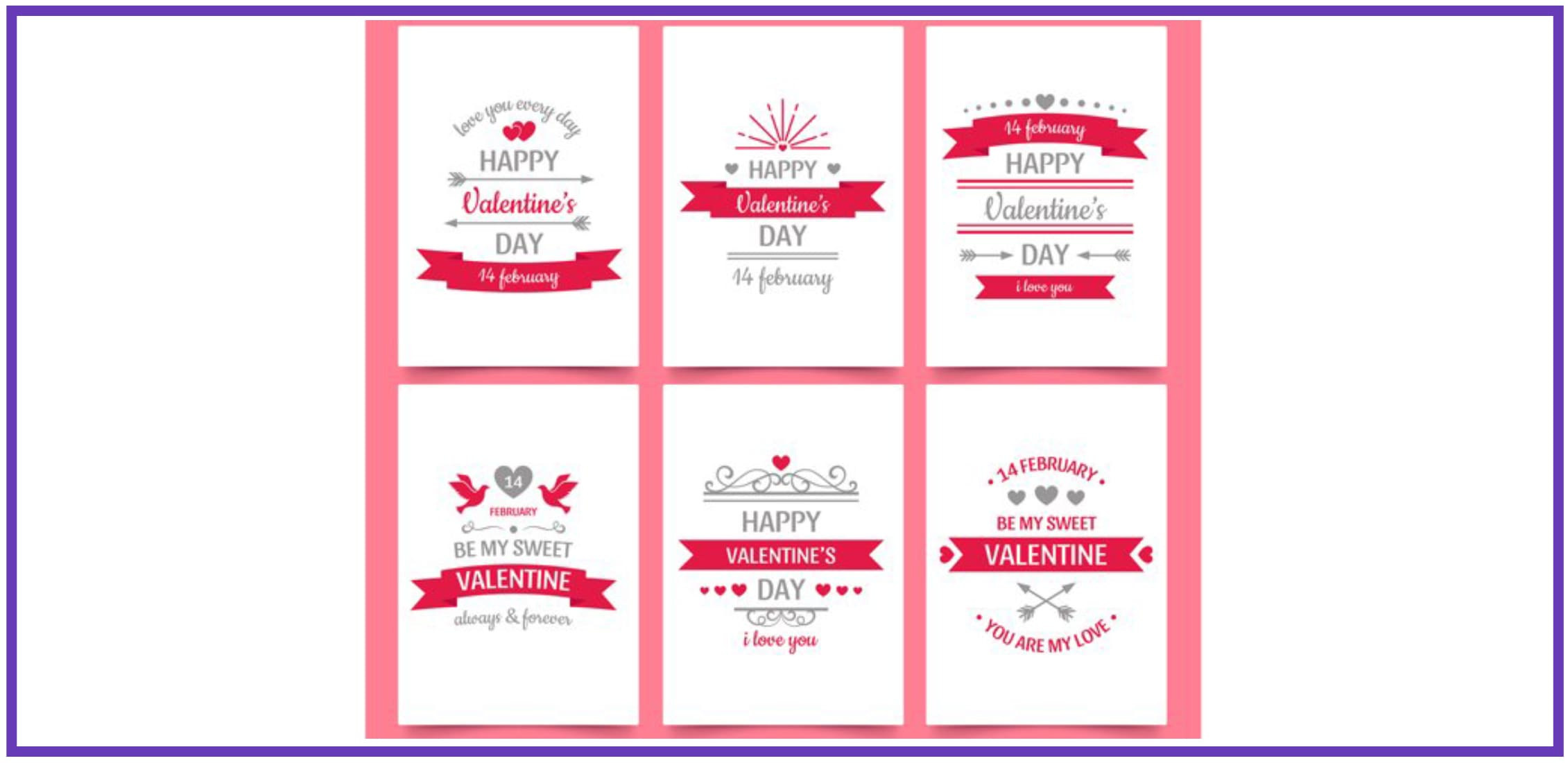 70+ Valentine's Day Cards 2021. Do not Forget about a Heartfelt Card for Your Valentine - valentines day card 32