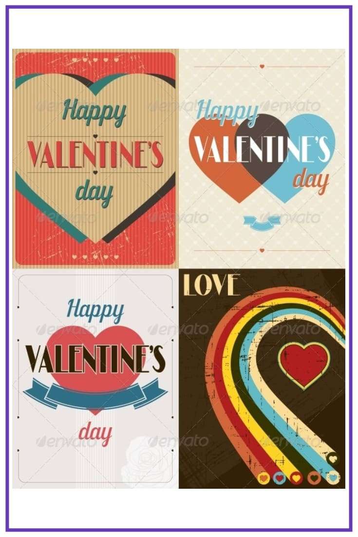 70+ Valentine's Day Cards 2021. Do not Forget about a Heartfelt Card for Your Valentine - valentines day card 34