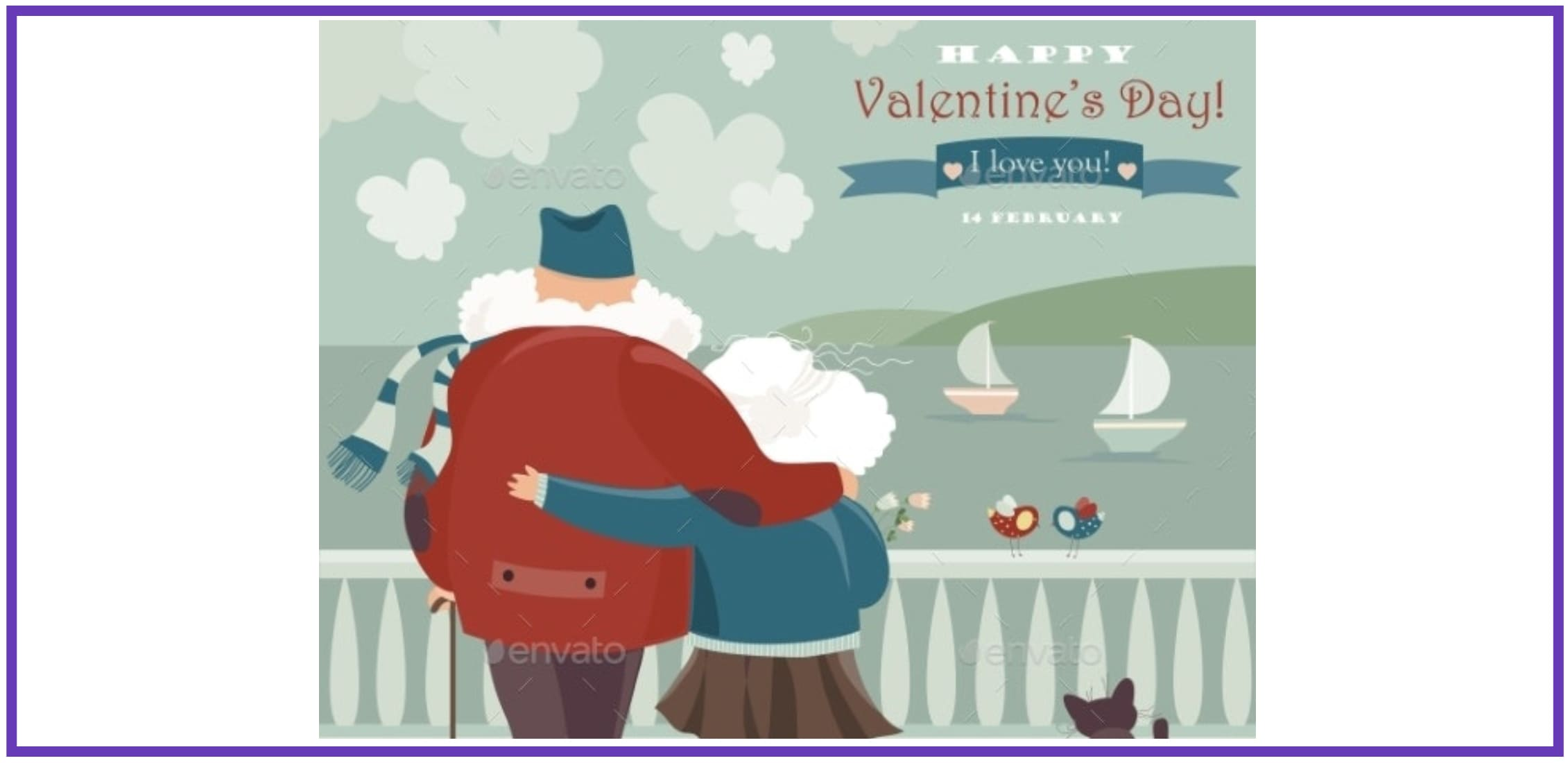 70+ Valentine's Day Cards 2021. Do not Forget about a Heartfelt Card for Your Valentine - valentines day card 48
