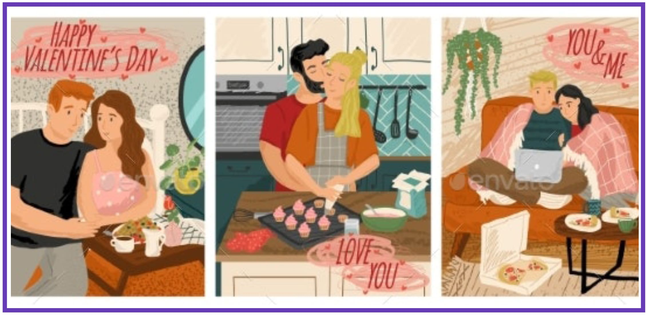 70+ Valentine's Day Cards 2021. Do not Forget about a Heartfelt Card for Your Valentine - valentines day card 50