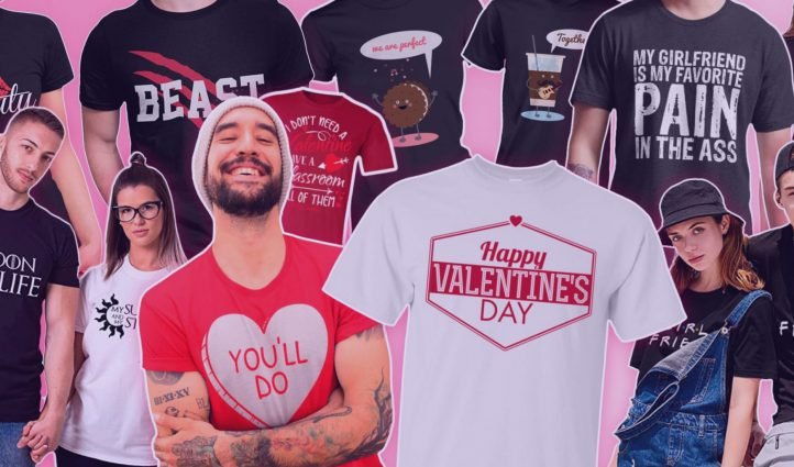 Examples Valentines Day Shirts.