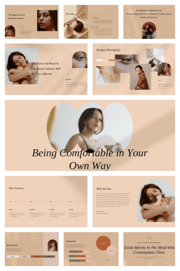 Leuticia PowerPoint. Collage Image.