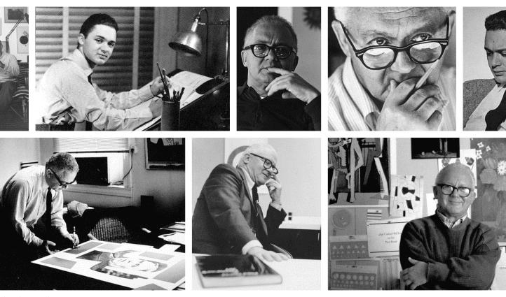 Paul Rand Photo Collage