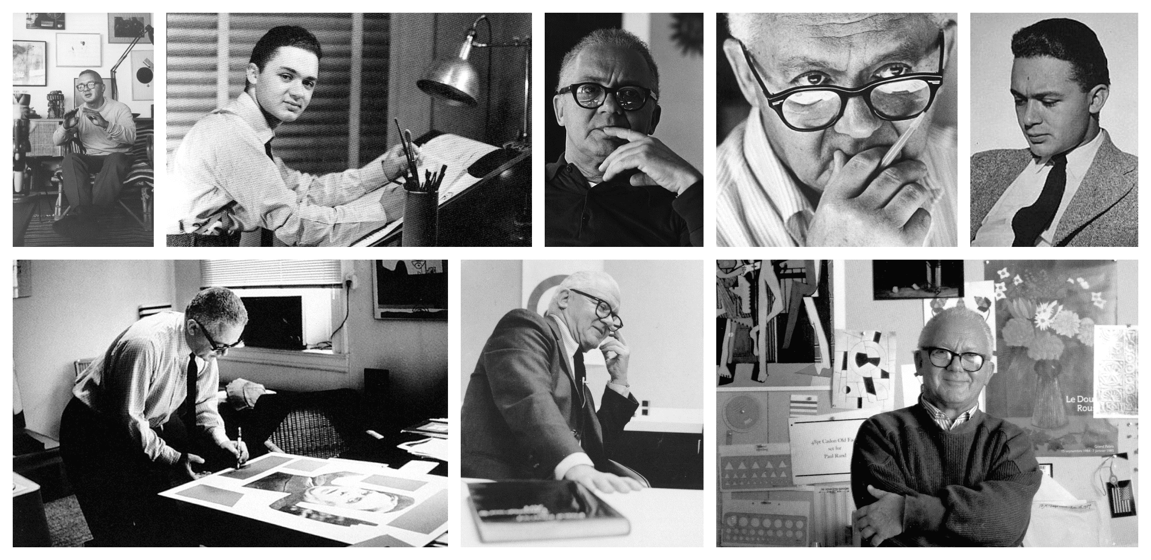 Paul Rand Photo Collage