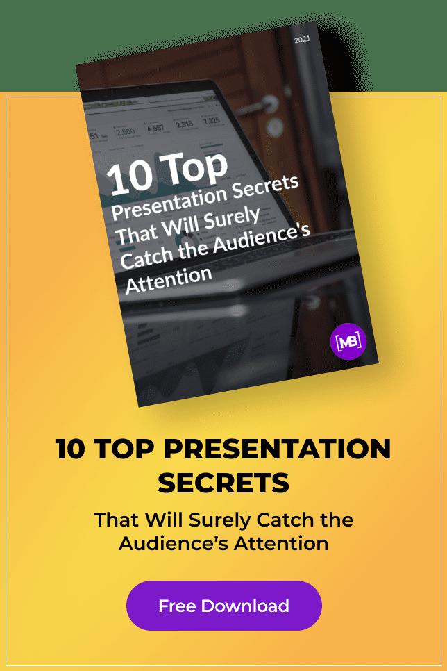 Pinterest Image: Free White Paper: 10 Top Presentation Secrets.