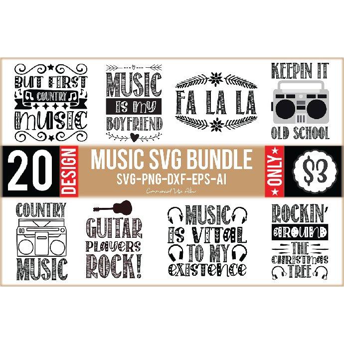 Music SVG Design Bundle