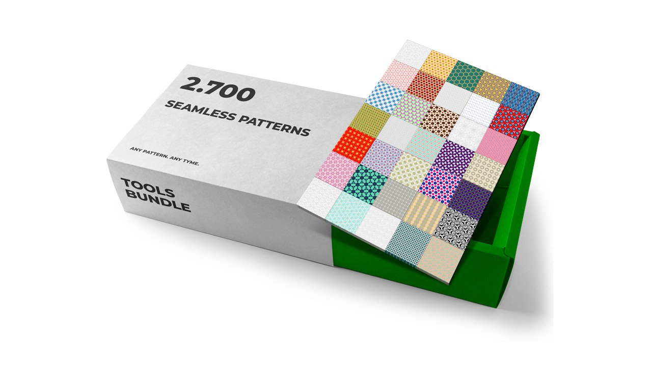 ToolsBundle - 89 600 Brushes, Patterns, Layer styles and Gradients - 4 patterns