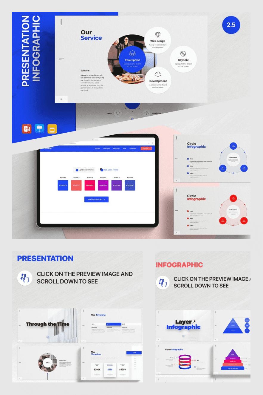 Voodoo Presentation v2.5 – Templates. Collage Image.