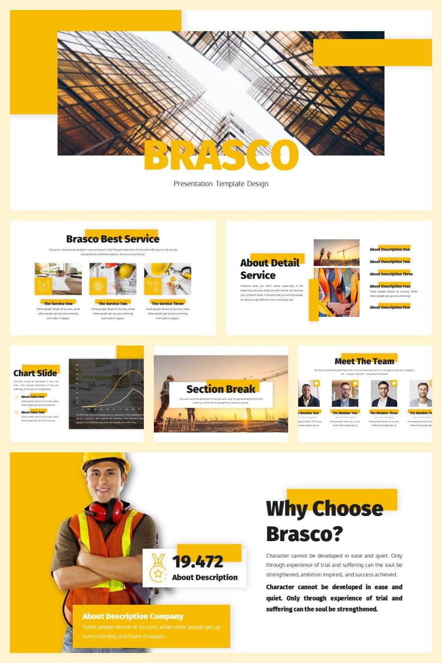 Brasco - Construction by RaviraCreative. Collage Image.