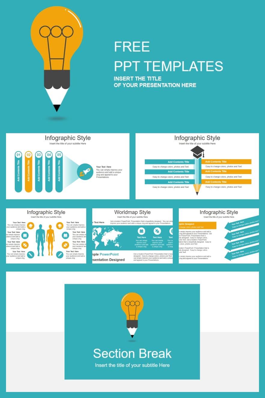 Creative Idea Bulb. Collage Image.