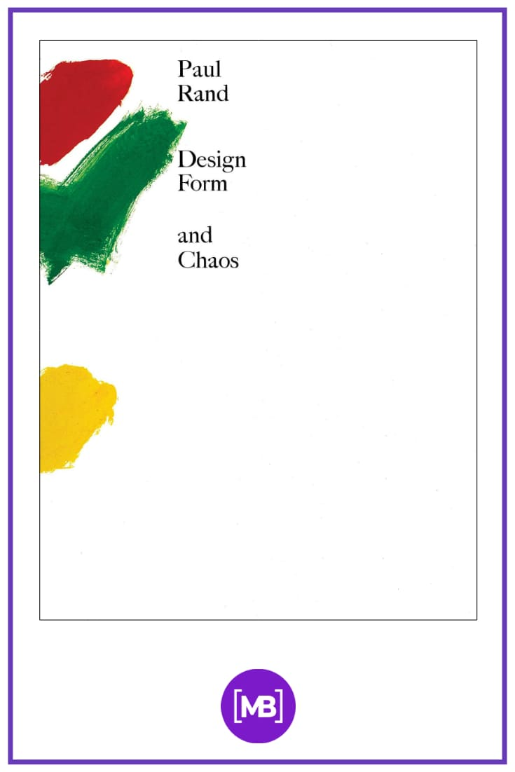 """Design, Form, and Chaos"". Cover Book."