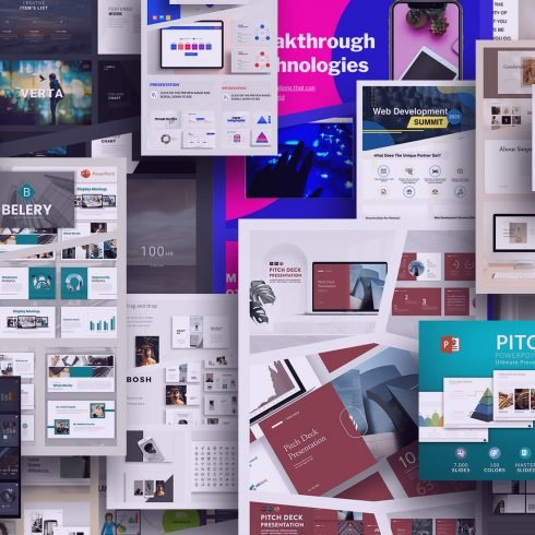 Examples Pitch Deck Templates.