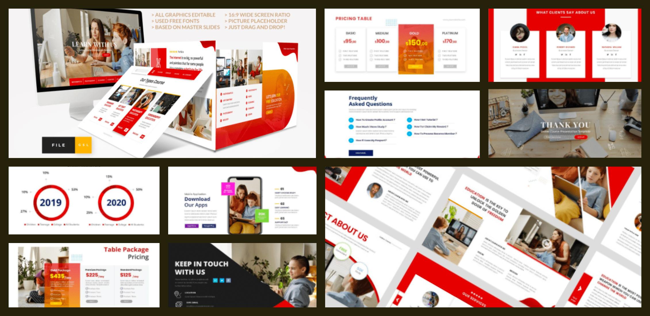 50+ Free and Premium Simple Google Slides Themes in 2021 - simple google slides theme 31