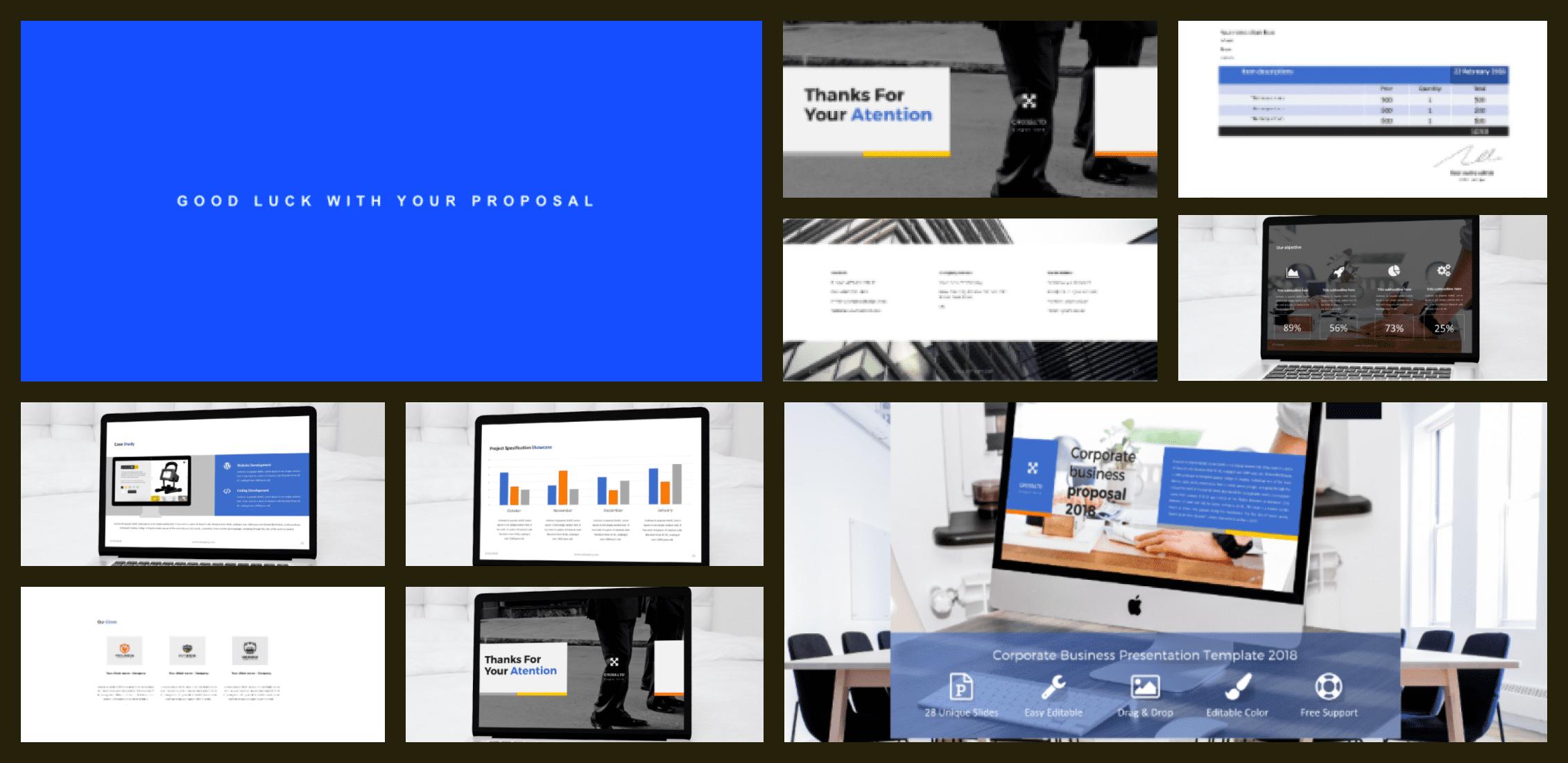 50+ Free and Premium Simple Google Slides Themes in 2021 - simple google slides theme 33