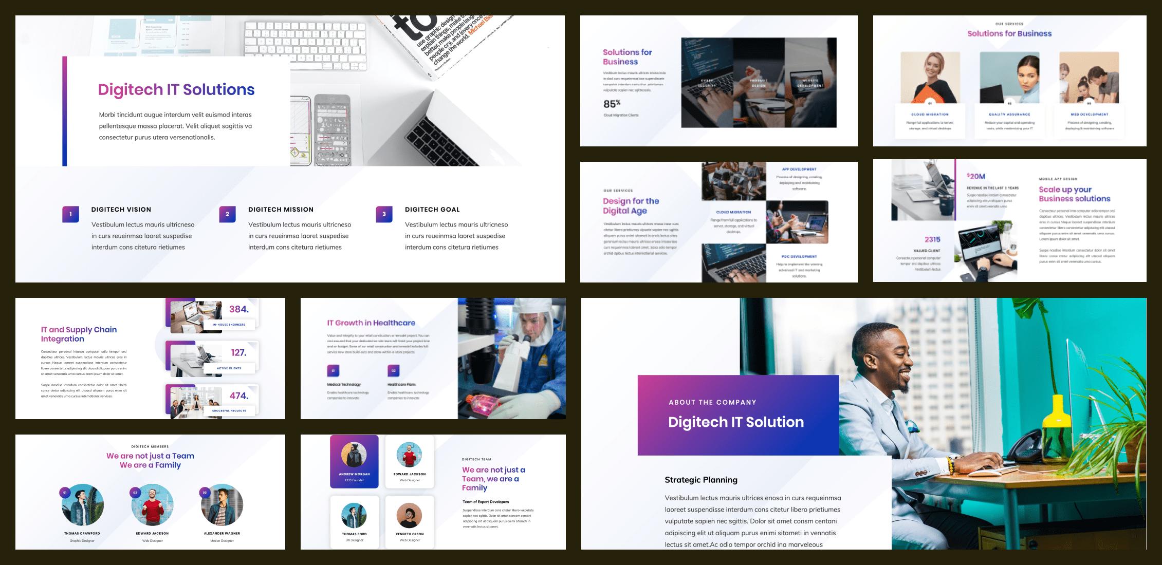 50+ Free and Premium Simple Google Slides Themes in 2021 - simple google slides theme 35