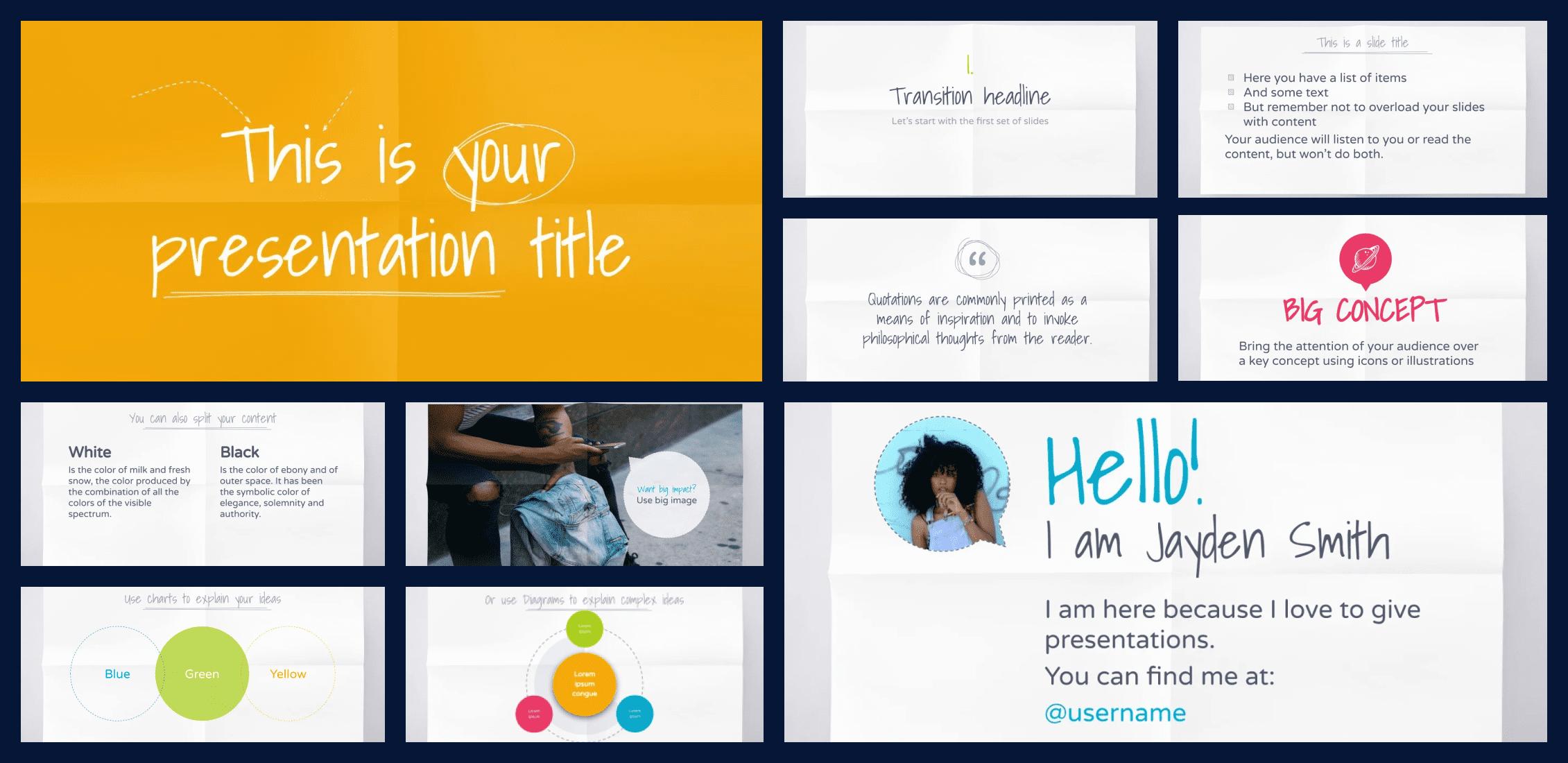 50+ Free and Premium Simple Google Slides Themes in 2021 - simple google slides theme 36