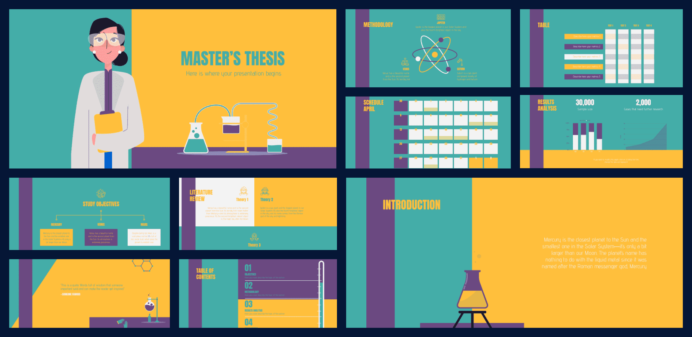 50+ Free and Premium Simple Google Slides Themes in 2021 - simple google slides theme 37