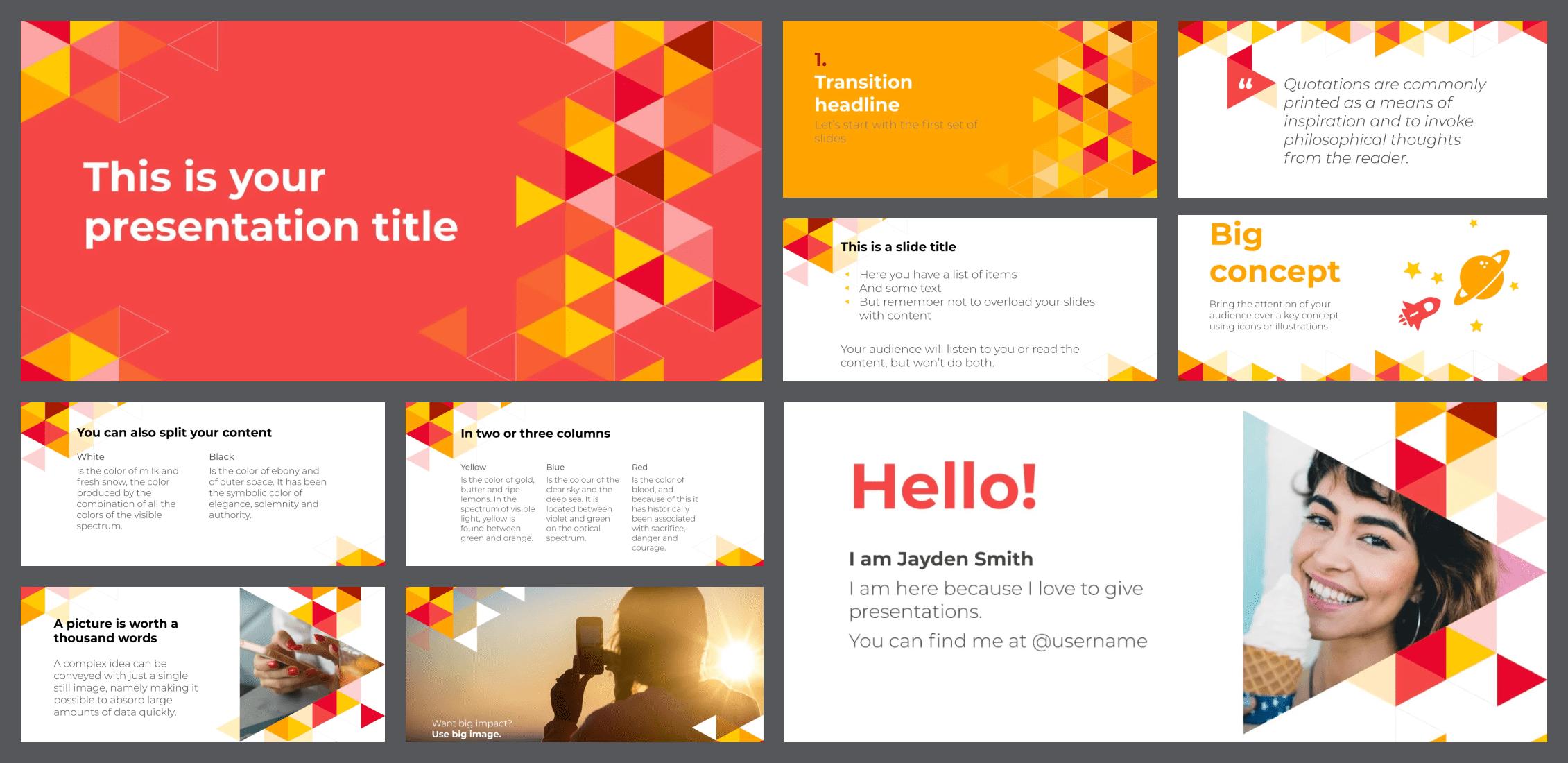 50+ Free and Premium Simple Google Slides Themes in 2021 - simple google slides theme 46