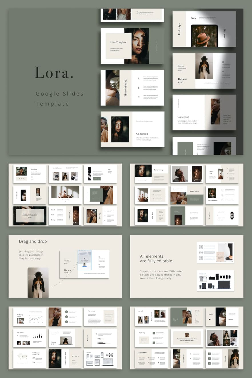 The template is made in a muted olive color. The blocks are conveniently and nicely placed. The stylish and flexible design of the theme only adds value to it.