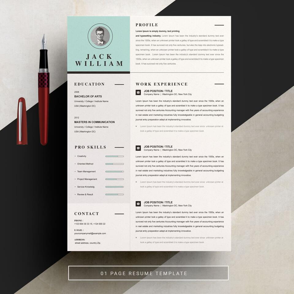 Resume Word.