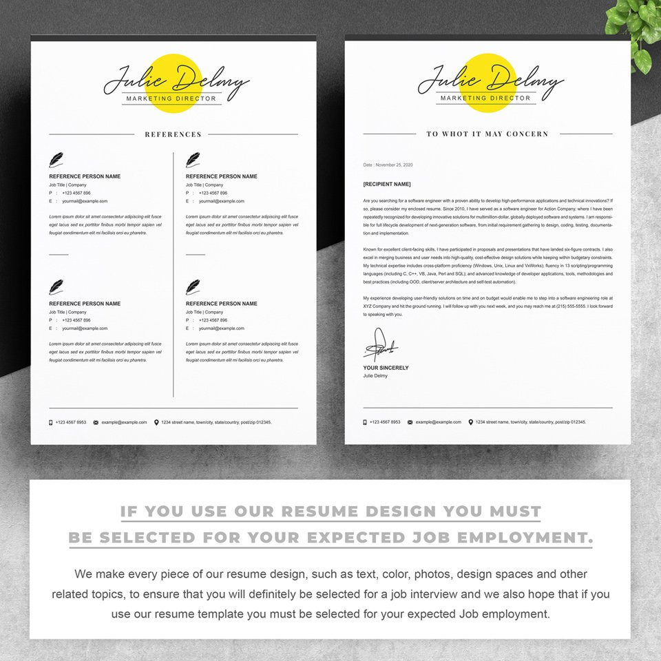 Two pages of resume. Marketing Director Resume.