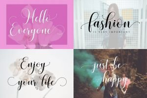 Urban style with adventure font.