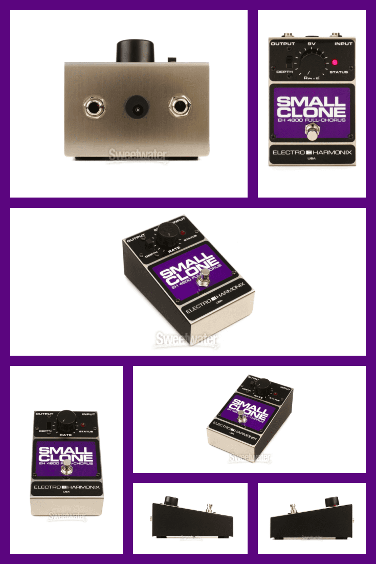 This is Kurt Cobain's chorus pedal of choice, responsible for the dimension in